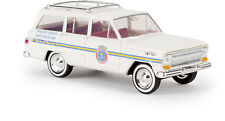 "Jeep Wagoneer, ""City of Garner"", H0 Auto Modelo 1:87, Brekina 19861, TD"