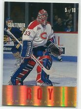 1993-94 Leaf Gold All-Stars 5 Tom Barrasso Patrick Roy