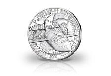 20 Euro Silbermünze 2020 Österreich Schneller als der Schall PP im Etui