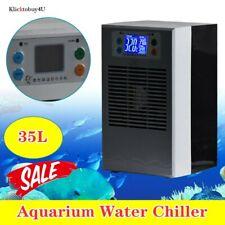 35L Aquarium Water Chiller Fish Shrimp Tank Cooler Cooling Machine 100W Usa Sale