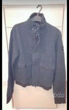 Armani Jeans Felpa tgL,usata 3 volte,senza tiretto,blu lavato.