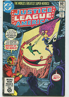 Justice League Of America #199 VF- Master Of The World     DC Comics CBX6A