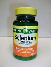 Spring Valley  - Selenium 200 Mcg 100 Tablets