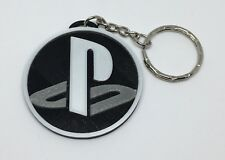 Playstation Console Logo Style Keyring / Key Chain