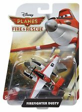 DISNEY PLANES 2 FIRE & RESCUE DIECAST QUALITY METAL VEHICLE FIREFIGHTER DUSTY