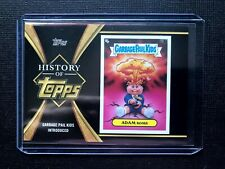 2021 Topps Series 1 * ADAM BOMB GARBAGE PAIL KIDS HISTORY OF TOPPS BLACK SP /299