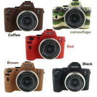Soft Silicone Camera case for Sony A7 II A7II A7R Mark2 A7S2 A7R2 camera casebag