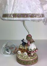 Demdaco Woodsong Kids Nursery Lamp Bunny Rabbit Lamp w/ Shade New in Box