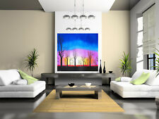 100cm Art Painting Boab Tree forest Sunset  Australia Landscape COA authentic