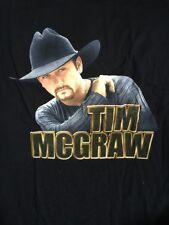 Tim McGraw Tour Concert Shirt Size XL