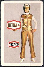 70'er Jahre Werbung Texaco - Ultra 4 Europa Spiel