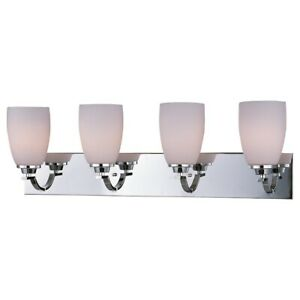 Maxim Lighting Rocco 4-Light Vanity in Polished Chrome - 20029SWPC