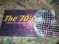 The 70's Board Game A Game For Your Generation New