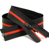 1x Waterproof Nylon Zipper 1Way / 2Way Zipper Open/Close End Sewing Zip 60/70cm