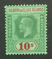 MOMEN: GILBERT & ELLICE SG #35 1924 MINT OG H #193452-2046