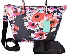 Kate Spade Laurel Way Printed Adaira Vinal Baby Bag Blurry Floral NWT