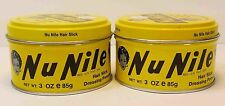 MURRAY'S(MURRAYS) NU NILE HAIR SLICK DRESSING POMADE*2 LOT* (3OZ)