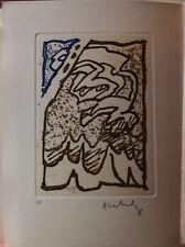 Pierre ALECHINSKY REYNARD Gravure Eau-forte etching signée Maeght Maint corps **