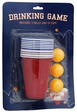 Adult Beer Pong Drinking Game For Christmas Stag Hen Parties