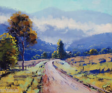 Australian Painting Mudgee Impressionist Landscape Painting  by Graham Gercken