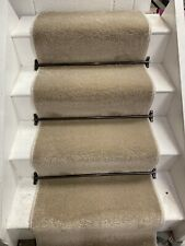 CORMAR SENSATIONS CARPET STAIR RUNNER 13 STEPS @ 60cm  Wide, BLEACH CLEANABLE