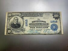 New listing Richford, Vermont 1902 National Bank Note. Charter 11615.