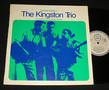 "KINGSTON TRIO ‎– FROM THE ""HUNGRY I""  AUSSIE CLUB LP MONO 1960s FOLK"