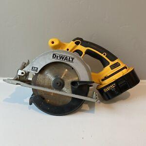 Dewalt DC39018-Volt Cordless 6-1/2 in. Circular Saw With Battery