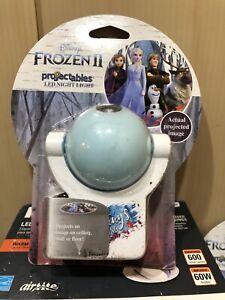 Disney Frozen 2 LED Night Light Projector Light Plug-in