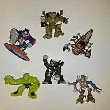 Transformers Robot Heroes x6 FIGURE LOT Prime Ratchet Frenzy Barricade Scorpo
