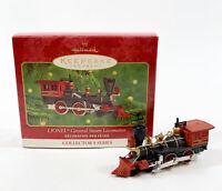 Vintage Hallmark Ornament LIONEL General Steam Locomotive- 2000  QX6684