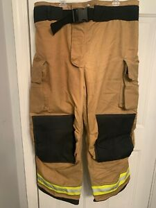 Men's Firefighter Turnout Bunker Pants Globe 48 x 30 GXTREME 2011 Trouser