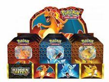 Pokemon Hidden Fates Tin Box Case / Display Charizard Gyarados Raichu EN 💎