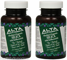 Alta Health Products Silica With Bioflavonoids 500 Mg 120 Tablets (Paks of 2)