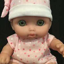 "Berenguer Doll 28-10 Baby Newborn Chubby Green Eyes 9"""