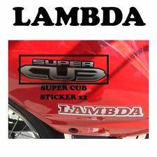 Super Cub Sticker x2 GENUINE HONDA - Honda NBC110 Super Cub Postie Bikes