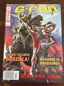 G-Fan Magazine Fall 2011 Godzilla Magazine