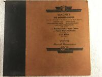 WAGNER DIE MEISTERSINGER ACT III FIELD ON SHORE RIVER PEGNITZ 78 RPM RCA REDSEAL