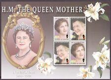 Turks und Caicos MiNr. 1712-13 postfrisch/ MNH Queen Elizabeth (OZ1822