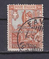 MC 1928 Regno Emanuele Filiberto 50c dent. 14 usato