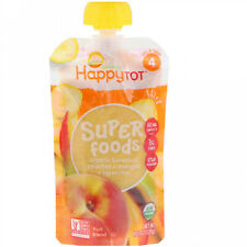 Happy Family Organics, HappyTot, SuperFoods, Bananas, Peaches And Mangos + 4.22
