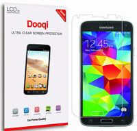 6X Dooqi HD Clear LCD Screen Protector Shield Cover For Samsung Galaxy S5