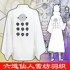 Anime Naruto cosplay costumes HOKAGE Ootutuki Hagoromo Lover unisex bathrobe