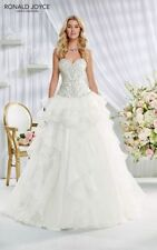 Ronald Joyce Crystal/Diamante Regular Wedding Dresses