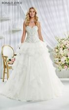 Ronald Joyce Crystal/Diamante Satin Wedding Dresses