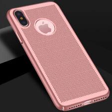 iPhone 7 / 8 / SE 2020 Hoesje Roze Mesh Gaatjes