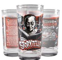 Universal Halloween Horror Nights 2020 Icon Storyteller Glass 30 Year