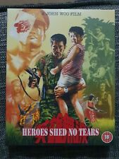 Heroes Shed No Tears Blu Ray With Limited Edition Slip Case 88 Films