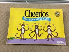 Cheerios Play Book Bingo Game By Briarpatch Ages 3-6 (1-6 players) Dated 2000-71