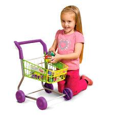 Casdon chariot panier avec des aliments peu shopper jeu de rôle magasin de jouets Argent